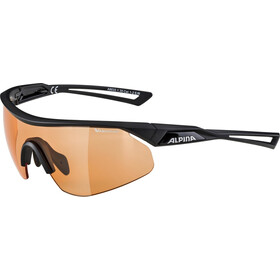 Alpina Nylos Shield VL Glasses black matt